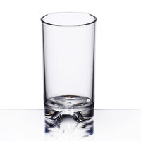 GET SW-1443-1 Roc N' Roll 5 oz. Clear SAN Plastic Juice / Dessert Glass - 24/Case