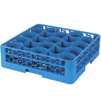 Carlisle RW2014 OptiClean NeWave 20 Compartment Glass Rack with One Extender