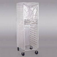 Advance Tabco PRC-1 Heavy Duty Bun Pan Rack Cover with Clear Front - 18 Mils