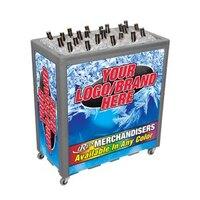 Gray Avalanche 300 Mobile 112 qt. Cooler Merchandiser