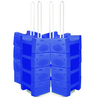 Koala Kare KB120LG-04 Large Booster Buddy Stand with 25 Blue Plastic Booster Seats