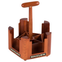 Bigelow Tea Wooden Tea Bag Caddy