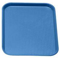 Blue Cambro 1216FF168 12 inch x 16 inch Customizable Fast Food Tray 24/Case