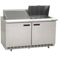 Delfield 4460N-24M 60 inch Mega Sandwich / Salad Prep Refrigerator - 115V