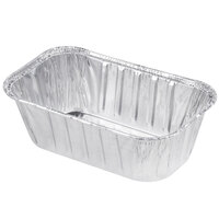 D&W Fine Pack A79 1 lb. Foil Bread Loaf Pan - 500 / Case