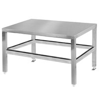 Cleveland EST28 28 inch x 21 inch Stainless Steel Equipment Stand
