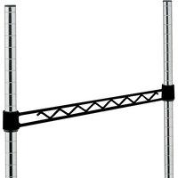 Metro H118-DBM Black Matte Hanger Rail 18 inch