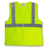 Lime Class 2 High Visibility Surveyor's Safety Vest with Velcro® Closure - Medium