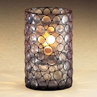 Sterno Products 80292 4 1/2 inch Mini Resin Bubble Liquid Candle Holder
