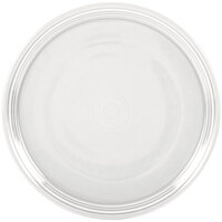 Homer Laughlin 505100 Fiesta White 15 inch China Pizza / Baking Tray - 4 / Case