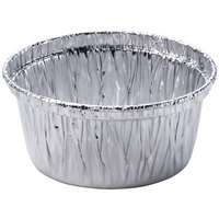 Durable Packaging 1400-30 4 oz. Foil Ramekin / Utility Cup - 100 / Pack