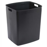 Continental 6451BK Rigid Plastic Trash Can Liner for King Kan and Colossus Receptacles