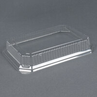 Genpak SQ91 11 1/2 inch x 8 3/4 inch Clear Rectangle Dome Lid 200 / Case