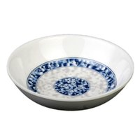 Blue Dragon 1 oz. Round Melamine Sauce Dish - 60/Case