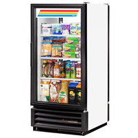 True GDM-10PT-LD White Pass-Through Glass Door Merchandiser - 10 Cu. Ft.