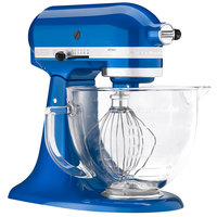 KitchenAid KSM155GBEB Electric Blue Premium Metallic Series 5 Qt. Countertop Mixer
