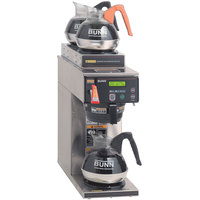 Bunn Axiom DV-3 Automatic Coffee Brewer with 1 Lower and 2 Upper Warmers Dual Voltage (Bunn 38700.0008)