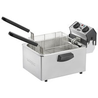 Waring WDF75RC 8.5 lb. Commercial Countertop Deep Fryer - 120V