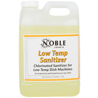 Noble Chemical 2.5 Gallon Low Temp San Dish Washing Machine Sanitizer - Ecolab® 13965 Alternative - 2/Case