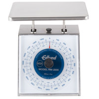 Edlund RM-2000 Four Star Series 2000 g Metric Portion Scale with 7 3/4 inch x 7 1/2 inch Platform