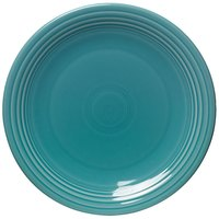 Homer Laughlin 467107 Fiesta Turquoise 11 3/4 inch Chop Plate - 4/Case