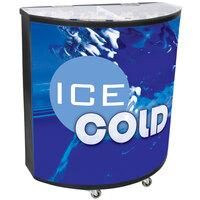Black Billboard 600 94 qt. Portable Beverage Tub