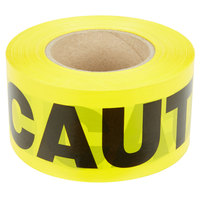Yellow CAUTION Tape - 3 inch x 1000 ft.