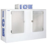 Polar Temp 1000CW Cold Wall Outdoor Ice Merchandiser - 100 cu. ft.