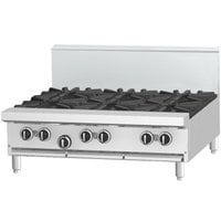 Garland G36- 2G24T Natural Gas 2 Burner Modular Top 36 inch Range with 24 inch Griddle - 102,000 BTU