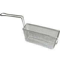 APW Wyott 3101230 11 1/2 inch x 3 1/2 inch x 6 1/4 inch Half Size Fryer Basket