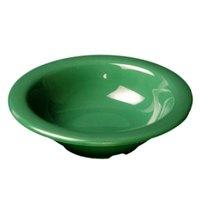 Green 15 oz. Melamine Soup Bowl - 12/Case