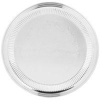 Vollrath 82169 Esquire 14 inch Round Fluted Stainless Steel Tray