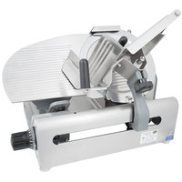 Globe 3600NF 13 inch Heavy Duty Manual Frozen Meat Slicer - 1/2 hp