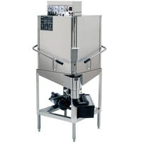 CMA Dishmachines E-C-EXT Extended-Door Single Rack Low Temperature, Chemical Sanitizing Corner Dishwasher - 115V