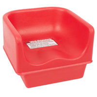 Cambro 100BC158 Hot Red Single Height Booster Seat