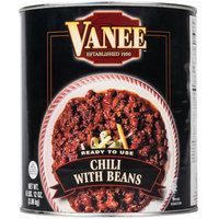Vanee 390GF Chili with Beans - (6) #10 Cans / Case