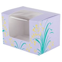 Easter Egg Box 1/2 lb. Window Candy Box 4 5/8 inch x 3 1/8 inch x 3 1/8 inch - 250/Case