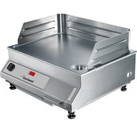 Garland GI-SH/GR 5000 21 inch Countertop Induction Griddle - 208V, 3 Phase, 5 kW