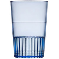 Fineline Quenchers 4115-BL 1.5 oz. Neon Blue Hard Plastic Shooter Glass 10 / Pack