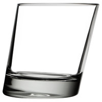 Libbey 11006821 Pisa 11.75 oz. Slanted Double Old Fashioned Glass - 12 / Case