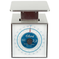 Edlund SR-2 OP Premier Series 32 oz. Mechanical Portion Scale with Oversized 7 inch x 8 3/4 inch Platform