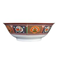 Peacock 32 oz. Round Melamine Rimless Bowl - 12 / Pack