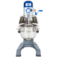 Vollrath 40758 30 qt. Commercial Planetary Floor Mixer with 3 Speeds - 1 HP