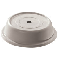 Cambro 1014VS380 Versa 10 7/8 inch Ivory Camcover Round Plate Cover - 12/Case