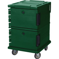 Cambro UPC1200519 Kentucky Green Camcart Ultra Pan Carrier - Front Load