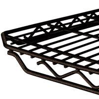 Metro 1436Q-DCH qwikSLOT Copper Hammertone Wire Shelf - 14 inch x 36 inch