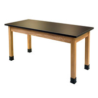 National Public Seating SLT2448 24 inch x 48 inch Science Lab Table - 30 inch Height