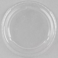 Choice PET Plastic Lid for 1.5 to 2.5 oz. Souffle Cup / Portion Cup - 125/Pack