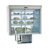 Delfield F5PC72D 72 inch Drop-In Pass-Through Refrigerated Display Case - 29.4 Cu. Ft.