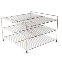 Nemco 66793 Three Tier 19 inch Shelf System for 6455 Pizza and Hot Food Merchandisers
